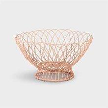 &klevering - Pink Twist Wire Basket - metal | pink