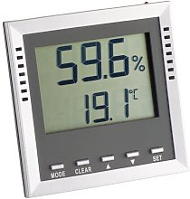 Klima Guard Electronic Thermo Hygrometer Symple