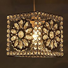 KLiving Sunflower Metal Beaded Cube Non Electric