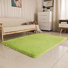 KLLKR Modern Area Rugs Grass Rug for Bedroom