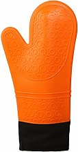 Klmnop Extra Long Professional Silicone Oven Mitt