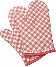 Klmnop Heat Resistant Oven Mitts Soft Cotton