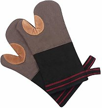 Klmnop Long Professional Oven Mitts Cotton