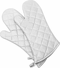 Klmnop Oven Gloves Kitchen Silver-Plated