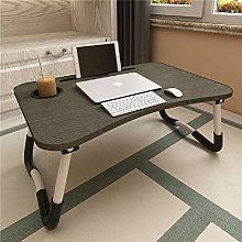 KLUX Adjustable Laptop Bed Table Notebook Standing