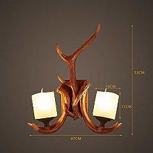 KMMK Creative Wall Lighting- Wall Lamp Led Resin