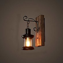 KMMK Creative Wall Lighting- Wall Lamp Led Wooden