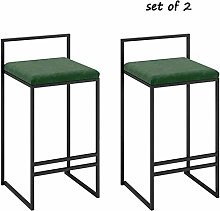 KMMK Desk Chairs,Bar Chair Double Barstools High