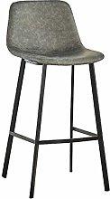 KMMK Desk Chairs,Iron Art Modern Reception Chair