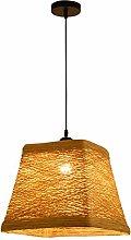 KMMK Novely Chandeliers- Rattan Pendant Lamp