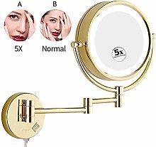 KMMK Special Mirror for Makeup,8.5 inch Bathroom