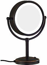 KMMK Special Mirror for Makeup,8.5 inch Tabletop
