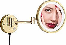 KMMK Special Mirror for Makeup,8 inch Bathroom Led
