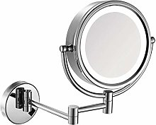 KMMK Special Mirror for Makeup,8 Inches Led Lights