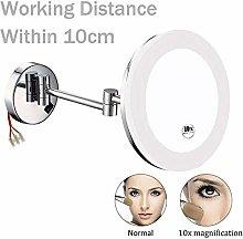 KMMK Special Mirror for Makeup,Bathroom Led Makeup