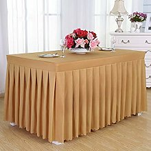 KMMK Tablecloth Desk Modern Rectangular Table