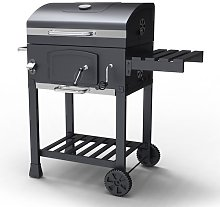 KMS - HEATSURE Charcoal BBQ Grill CBG01 Grey