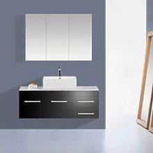 KMS - WestWood Bathroom Cabinet BC02 White