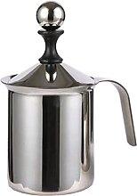 Kmuing Milk Frother Milk Jug 400Ml Steel Milk