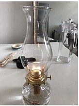 KMYX Retro Nostalgic Glass Kerosene Lamp