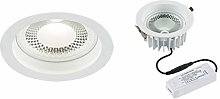 Knightsbridge 230V 10W COB LED Recessed Commercial