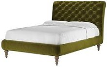Knightsbridge (No Footboard) Double Bed in Olive