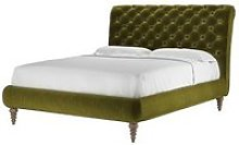 Knightsbridge (No Footboard) King Bed in Olive