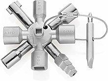 KNIPEX TwinKey Control Cabinet Key for all