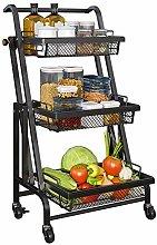 KNJF Small Cart Multifunction Utility Kitchen