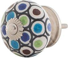 Knober Furniture Knob Ceramic Porcelain