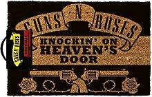 Knocking On Heavens Door Door Mat (One Size)