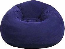 Knowled Black Beanbag Chair Inflatable Sofa Bean