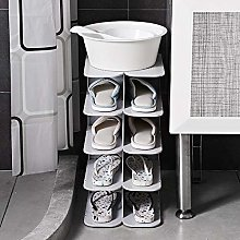 known 6-ply stackable shoe rack, hanger,