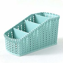known Rattan-like Hollow Box Storage Basket Desk