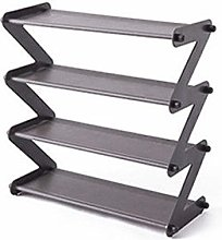 known Simple Assembled Shoe Rack Stainless Steel