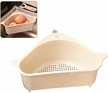 Knowooh Triangular basket kitchen sink colander