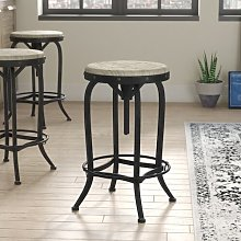 Knowsley Height Adjustable Swivel Bar Stool