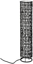 Knute Floor Lamp in Black Paper