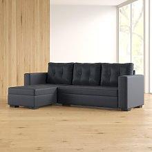 Koa Reversible Corner Sofa Bed Zipcode Design