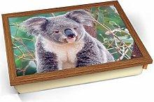 Koala Cushioned Bean Bag Breakfast Bed Lap Tray