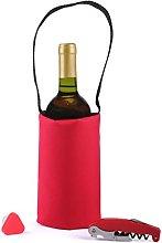koala Set Picnic Red-Cooler Bag And Wine Top
