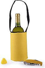 Koala Set Picnic Yellow-Cooler Bag and Wine Top