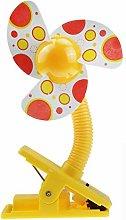 Kobay Fan, Stroller Fan Portable Baby Mini Safety