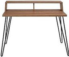 Koble Bea Desk With Wireless Charging - Oak/Black