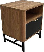 Koble Scandi Smart End Table - Walnut