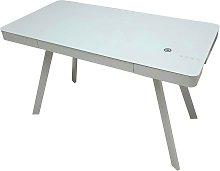 Koble Silas 1 Drawer Desk - Grey