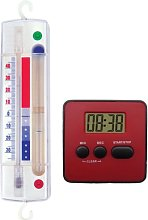 Koch 53502, Timer and Freezer Thermometer 2-Piece