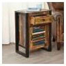 Kochi Lamp Table / Bedside Cabinet Fully Assembled