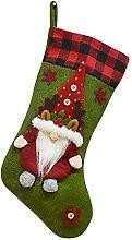 KOERIM Christmas Stocking Ornaments Faceless Old