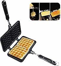KOET Waffle Maker 2 Square Waffler Griddle Double